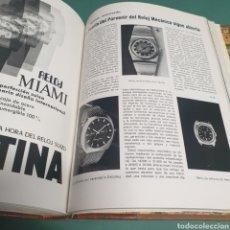 Outils d'horloger: GREMIO DE RELOJEROS 1972 COMPLETO 12 REVISTAS ARTE Y PRESTIGIO FORTIS FESTINA RADIANT CITIZEN ZODIAC. Lote 262024275