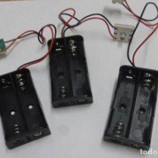Herramientas de relojes: PORTA PILAS, CON LED.. Lote 263534590