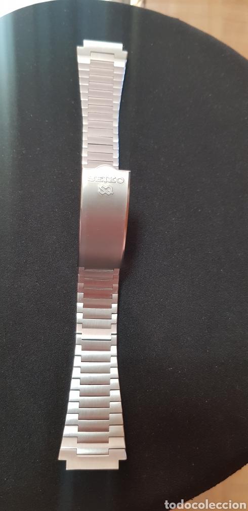 Herramientas de relojes: Pulsera de acero original Seiko 0624-5009 - Foto 7 - 263776975
