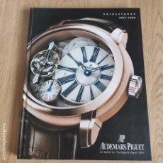 Herramientas de relojes: LIBRO COLECCIONES DE RELOJ 2007-2008 AUDEMARS PIGUET, EN PERFECTO ESTADO. Lote 265558109