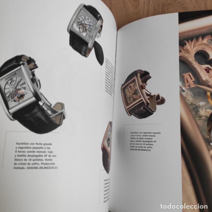 Herramientas de relojes: LIBRO COLECCIONES DE RELOJ 2007-2008 AUDEMARS PIGUET, EN PERFECTO ESTADO - Foto 4 - 265558109