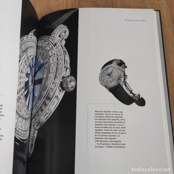 Herramientas de relojes: LIBRO COLECCIONES DE RELOJ 2007-2008 AUDEMARS PIGUET, EN PERFECTO ESTADO - Foto 5 - 265558109