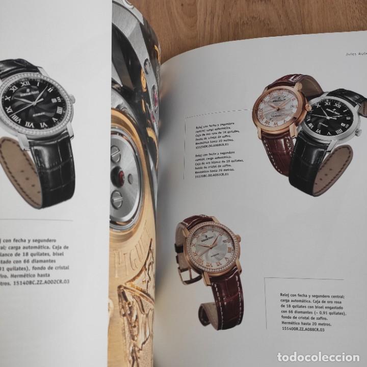 Herramientas de relojes: LIBRO COLECCIONES DE RELOJ 2007-2008 AUDEMARS PIGUET, EN PERFECTO ESTADO - Foto 6 - 265558109