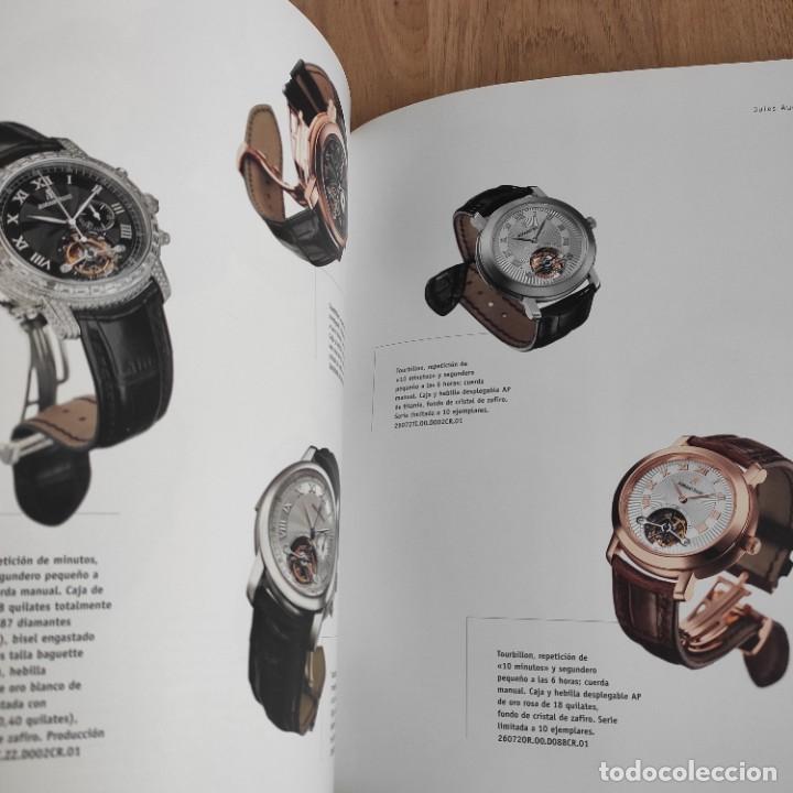 Herramientas de relojes: LIBRO COLECCIONES DE RELOJ 2007-2008 AUDEMARS PIGUET, EN PERFECTO ESTADO - Foto 7 - 265558109