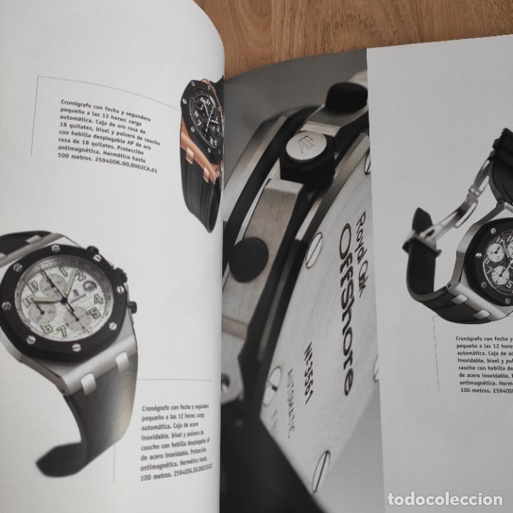 Herramientas de relojes: LIBRO COLECCIONES DE RELOJ 2007-2008 AUDEMARS PIGUET, EN PERFECTO ESTADO - Foto 8 - 265558109