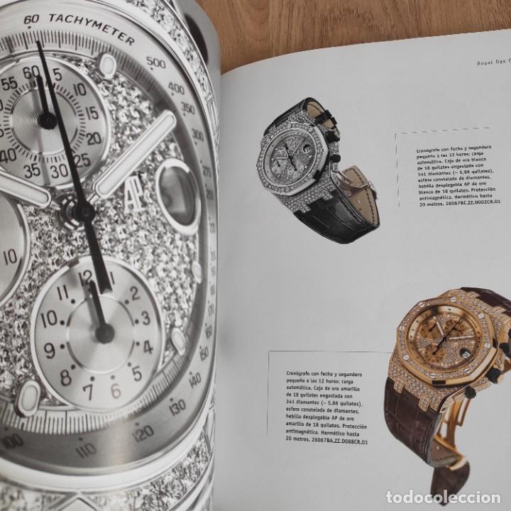 Herramientas de relojes: LIBRO COLECCIONES DE RELOJ 2007-2008 AUDEMARS PIGUET, EN PERFECTO ESTADO - Foto 9 - 265558109
