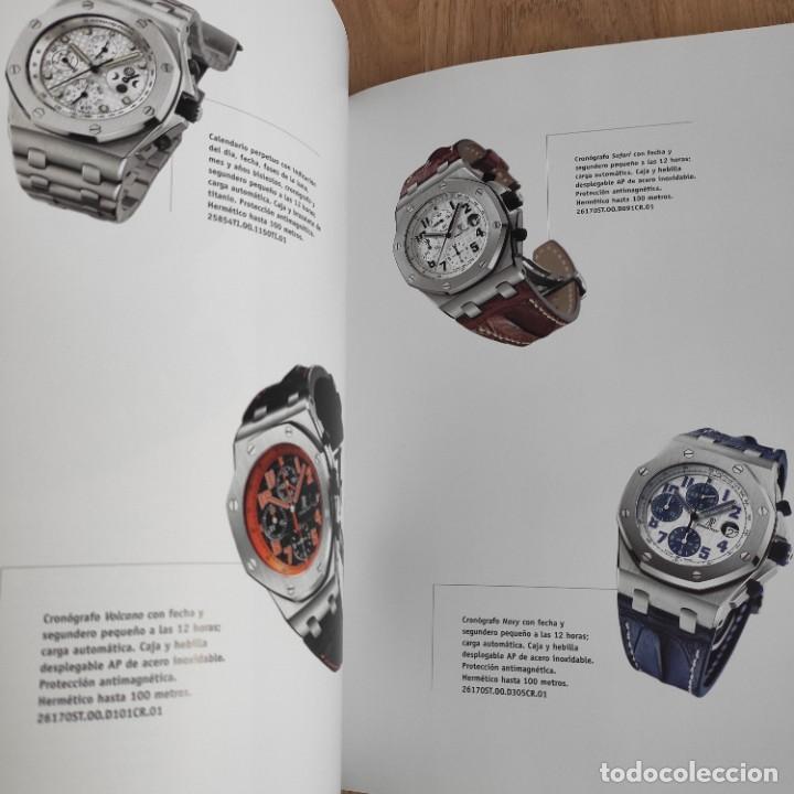 Herramientas de relojes: LIBRO COLECCIONES DE RELOJ 2007-2008 AUDEMARS PIGUET, EN PERFECTO ESTADO - Foto 10 - 265558109