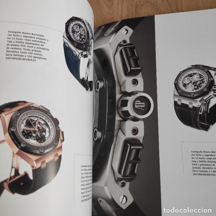 Herramientas de relojes: LIBRO COLECCIONES DE RELOJ 2007-2008 AUDEMARS PIGUET, EN PERFECTO ESTADO - Foto 11 - 265558109