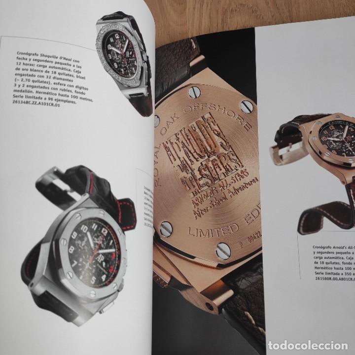 Herramientas de relojes: LIBRO COLECCIONES DE RELOJ 2007-2008 AUDEMARS PIGUET, EN PERFECTO ESTADO - Foto 12 - 265558109