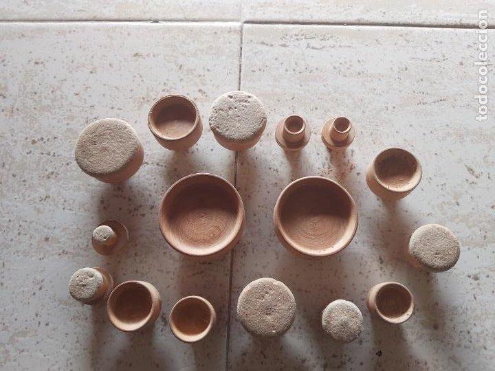 Herramientas de relojes: Lote de piezas de relojero de madera - Foto 2 - 268977574