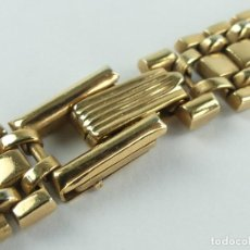 Outils d'horloger: VINTAGE CADENA CORREA DE RELOJ CHAPADA EN ORO. Lote 285678373