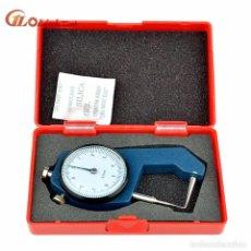 Herramientas de relojes: CALIBRE METÁLICO PARA MEDICIONES DE 0,1 MM A 20 MM - NUEVO. Lote 285960283