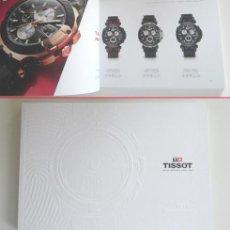 Herramientas de relojes: CATÁLOGO DE RELOJES TISSOT - 108 PÁG. - TOUCH COLLECTION - T-SPORT - T-CLASSIC - ETC - FOTOS RELOJ. Lote 286419083