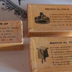 Herramientas de relojes: HERRAMIENTAS Y ÚTILES DE RELOJERO (DESCONOCEMOS SU UTILIDAD). Lote 287379083