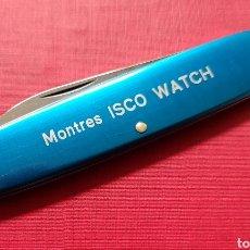 Strumenti di orologiaio: NAVAJA VICTORINOX RELOJERO PUBLICIDAD RELOJ MONTRES ISCO WATCH SWITZERLAND. Lote 290959013