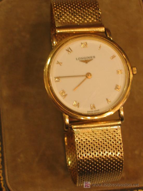 cda34a01ab38 Reloj longines - oro de ley - cuarzo - Vendido en Venta Directa ...