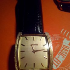 Relojes - Longines: RARO LONGINES DE ORO 14 K CON FORMA DE TONEL . Lote 47874885