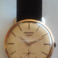 Relojes - Longines: LONGINES CAJA DE ORO MACIZO. Lote 48962601