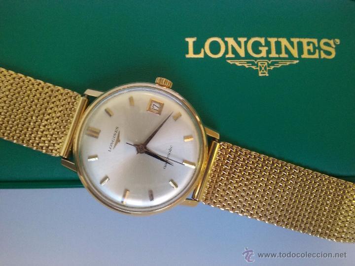 2ca993f899f6 reloj longines de oro