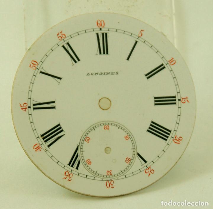 ESPECTACULAR ESFERA BOLSILLO LONGINES ESMALTE PERFECTO (Relojes - Relojes Actuales - Longines)