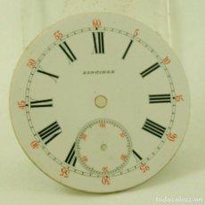 Relojes - Longines: ESPECTACULAR ESFERA BOLSILLO LONGINES ESMALTE PERFECTO. Lote 66154510