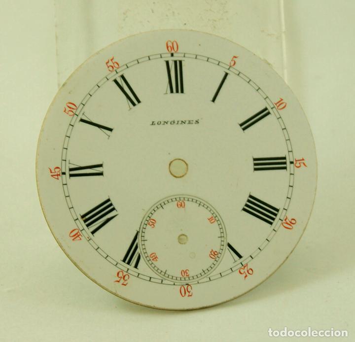 Relojes - Longines: ESPECTACULAR ESFERA BOLSILLO LONGINES ESMALTE PERFECTO - Foto 2 - 66154510