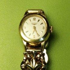 Relojes - Longines: RELOJ LONGINES SEÑORA ORO 18 KILATES MECÁNICO CUERDA. FUNCIONA PERFECTAMENTE. Lote 76809275