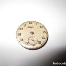 Relojes - Longines: MAQUINARIA ESTROPEADA LONGINES DIAMETRO APROX 16 MM. Lote 83903332