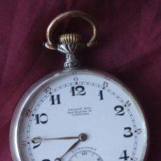 Relojes - Longines: RELOJ DE BOLSILLO DE PLATA 0,900 LONGINES 1889 FUNCIONANDO FABRICADO PARA PERRIN HNOS CORDOBA. Lote 93745225