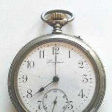 Relojes - Longines: LONGINES RELOJ BOLSILLO, NO DESCARGA CUERDA. MED. 5 CM SIN CONTAR TIJA Y CORONA. Lote 96211951