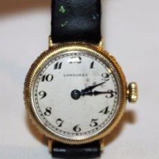 Relojes - Longines: RELOJ LONGINES DE MUJER EN ORO DE 18K CON ESFERA DE 21 MM. Lote 99171219