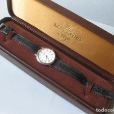 Relojes - Longines: RELOJ CLASICO DE HOMBRE AUTOMATICO MARCA LONGINES EN SU ESTUCHE 4120 645 - L-645.1 - AUTOMATIC WATCH. Lote 100045987