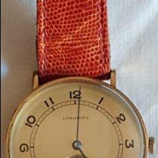 Relojes - Longines: LONGINES 6577493 38 MMS EN BUEN ESTADO PLACA ORO 20 MICROONS . Lote 106967663