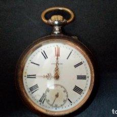 Relojes - Longines: RELOJE DE BOLSILLO DE CARGA MANUAL LONGINES SEC. XIX. Lote 111730699