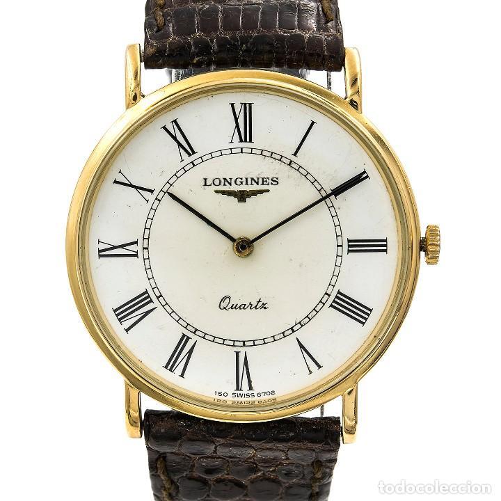 Relojes - Longines: Longines Reloj de Caballero Acero y Oro amarillo 18k - Foto 2 - 113465023