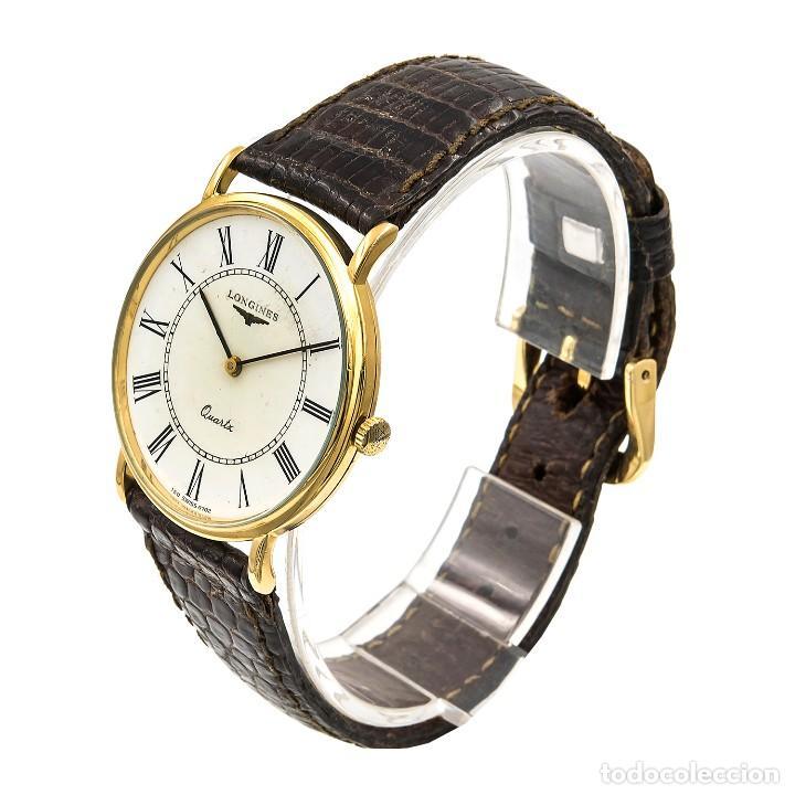 Relojes - Longines: Longines Reloj de Caballero Acero y Oro amarillo 18k - Foto 3 - 113465023