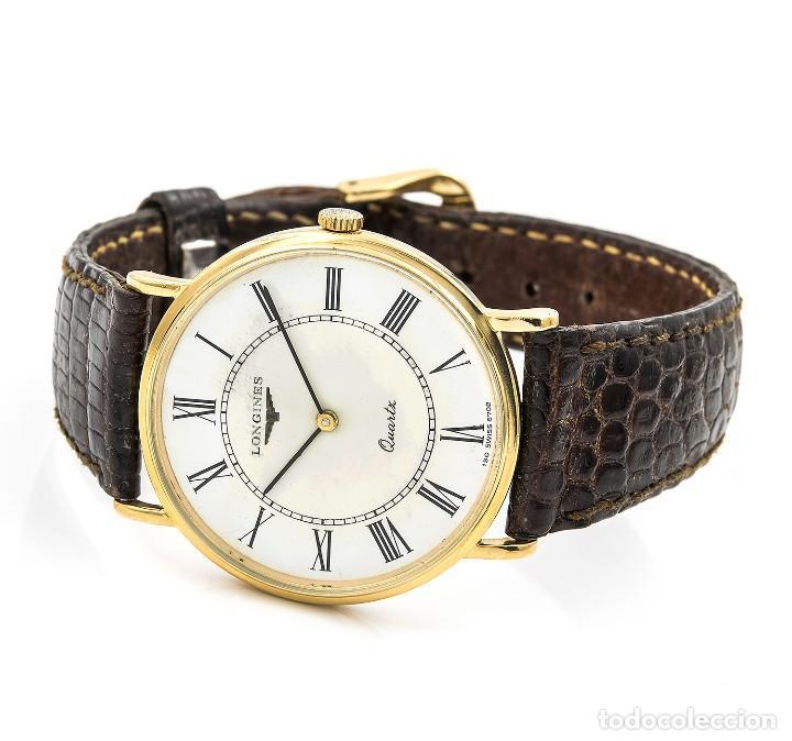 Relojes - Longines: Longines Reloj de Caballero Acero y Oro amarillo 18k - Foto 5 - 113465023