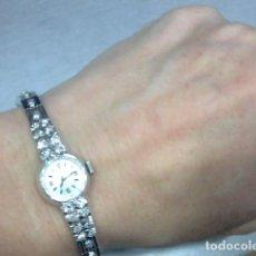 Relojes - Longines: LONGINES ORO BLANCO 18 KL AÑOS 60. Lote 116990075