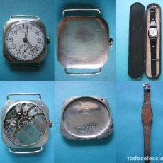Relojes - Longines: ANTIGUO RELOJ DE SEÑORA - MARCA LONGINES - PLATA DE 935 CON TODOS SUS PUNZONES - PESO 25 GRAMOS VER. Lote 127898178