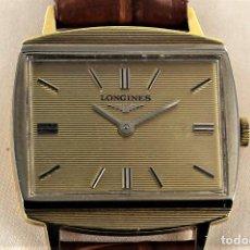 Relojes - Longines: LONGINES DEPOSE-ORO 18K Y PLATINO- MECANICO. Lote 126481315