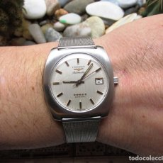 Relojes - Longines: LONGINES ADMIRAL 5 ESTRELLAS DE ACERO 37 MM. Lote 127208939