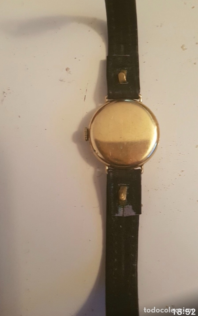 Relojes - Longines: RELOJ LONGINES DE MUJER EN ORO DE 18K CON ESFERA DE 21 MM APROX. ANTES DE LA GUERRA - Foto 2 - 223991670