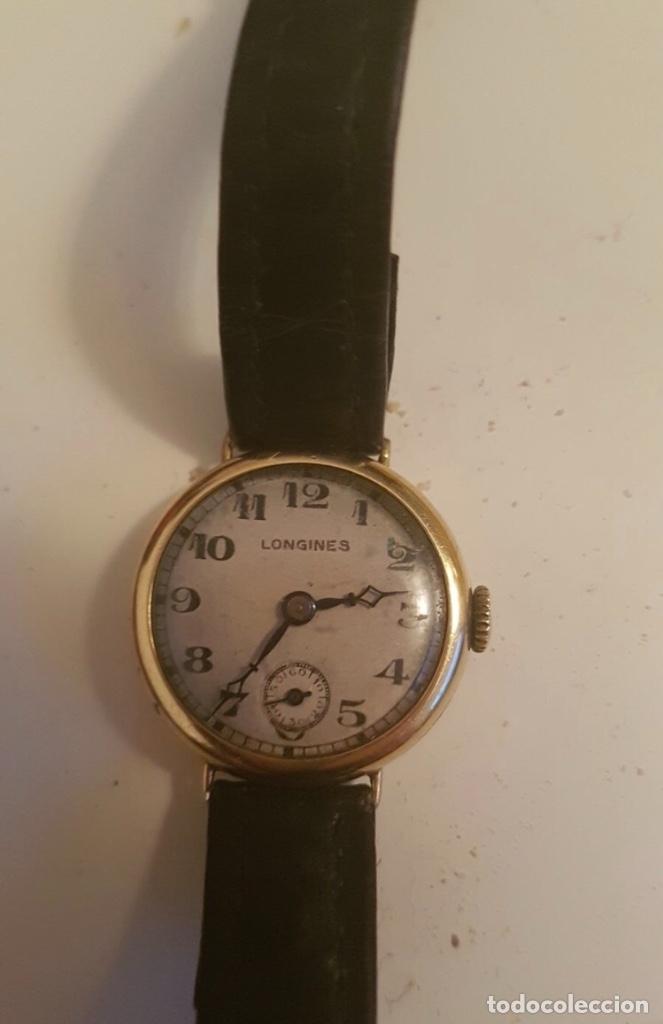 Relojes - Longines: RELOJ LONGINES DE MUJER EN ORO DE 18K CON ESFERA DE 21 MM APROX. ANTES DE LA GUERRA - Foto 3 - 223991670