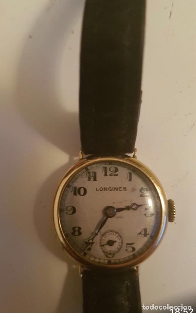 Relojes - Longines: RELOJ LONGINES DE MUJER EN ORO DE 18K CON ESFERA DE 21 MM APROX. ANTES DE LA GUERRA - Foto 4 - 223991670