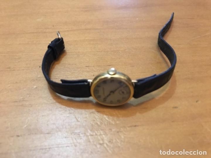 Relojes - Longines: RELOJ LONGINES DE MUJER EN ORO DE 18K CON ESFERA DE 21 MM APROX. ANTES DE LA GUERRA - Foto 8 - 223991670