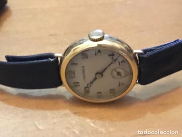 Relojes - Longines: RELOJ LONGINES DE MUJER EN ORO DE 18K CON ESFERA DE 21 MM APROX. ANTES DE LA GUERRA - Foto 10 - 223991670