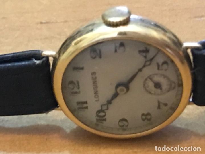 Relojes - Longines: RELOJ LONGINES DE MUJER EN ORO DE 18K CON ESFERA DE 21 MM APROX. ANTES DE LA GUERRA - Foto 11 - 223991670