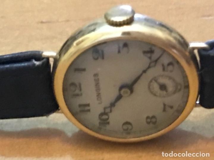 Relojes - Longines: RELOJ LONGINES DE MUJER EN ORO DE 18K CON ESFERA DE 21 MM APROX. ANTES DE LA GUERRA - Foto 12 - 223991670