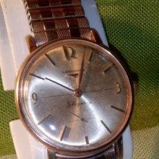 Relojes - Longines: LONGINES FLAGSHIP 30 L - MANUAL. AÑOS 60. FUNCIONANDO. P.ORO 20 M. 34.7 S/C. INFO. EN DESCRIPCION Y . Lote 134818610
