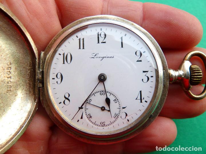 RELOJ DE BOLSILLO LONGINES DE PLATA (Relojes - Relojes Actuales - Longines)
